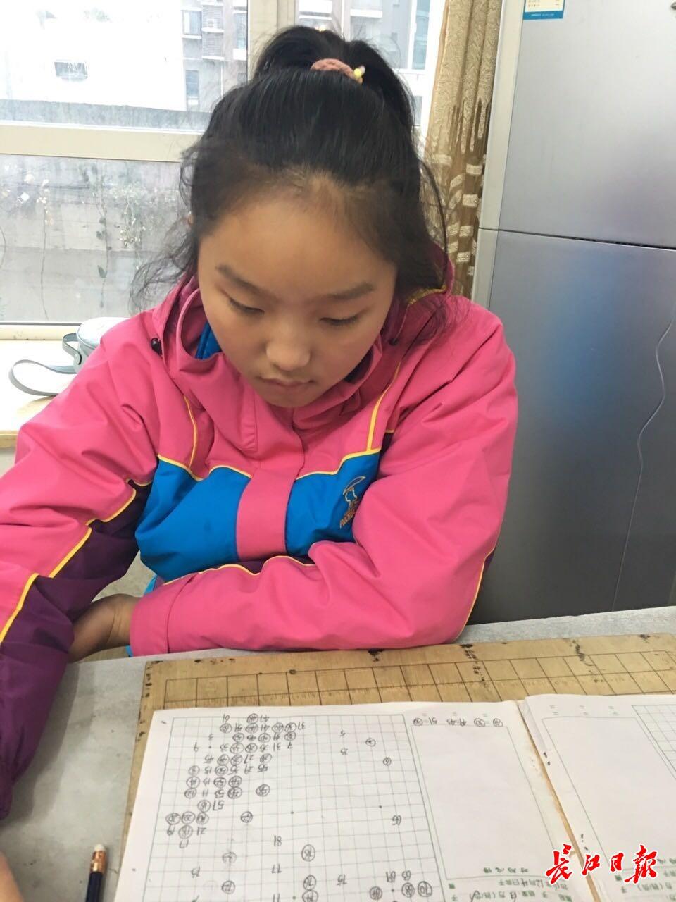 """围棋""""高考""""放榜,17岁武汉女孩任可跻身职业棋手行列"""